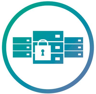 TS-963X, armazenamento seguro com criptografia