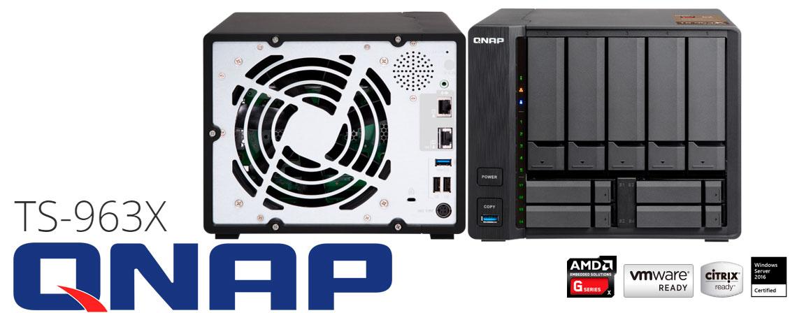 TS-963X Qnap, servidor de backup de alta performance
