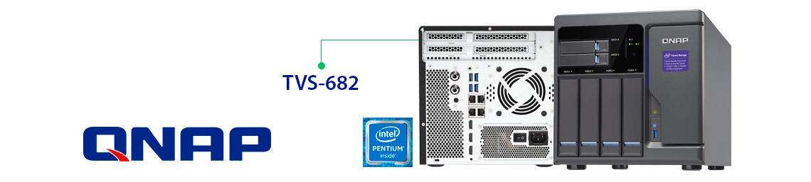 TVS-682 Qnap, Armazenamento hierárquico SSD e HDD SATA