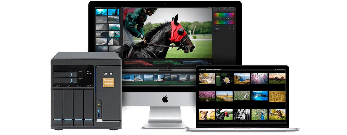 TVS-682T Qnap, storage ideal para Macs equipado com Thunderbolt