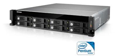 TVS-871U-RP Qnap, um storage NAS 8 baias até 64TB para rack