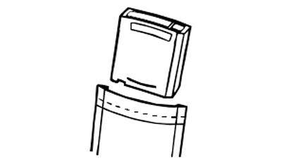 8586-RDX Tandberg, portátil e durável