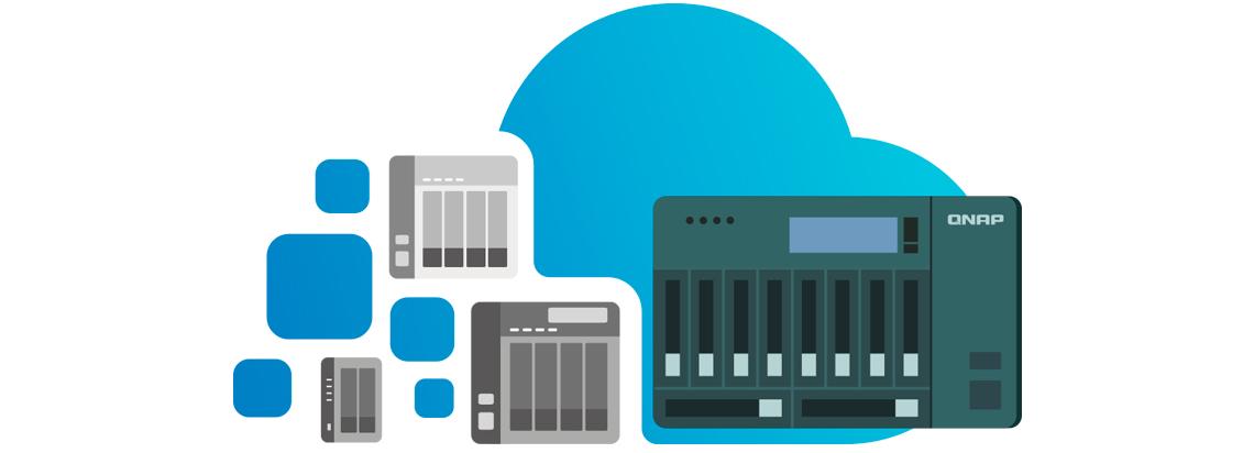 Virtual JBOD para aumento de capacidade utilizando outro NAS