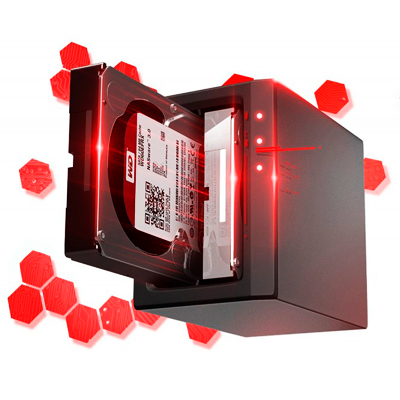 WD Red Ideal para servidores e NAS