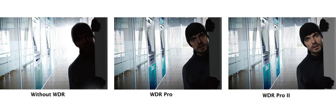 Wide Dynamic Range - WDR Vivotek